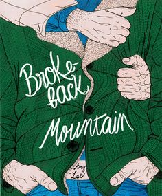 Brokeback Mountain, Ang Lee, 2005 Poster by Helena Morais Soares.