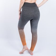 Kaured Fashion Women Pants Trousers for Ladies Fitness Plain Light Grey High Waist Crisscross Tie Fitness Elastic Leggings