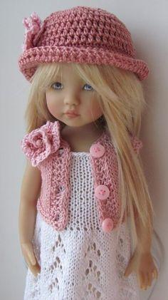 Kish Doll ~ hand knit