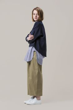 Cappa Wool Silk Top by Studio Nicholson #kickpleat