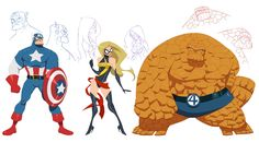 Marvel concept designs by greenestreet on deviantART
