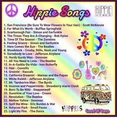 Hippie Music, 60s Music, Music Mix, Hit Songs, Music Songs, Sweet Memories, Childhood Memories, Playlists, Music Charts