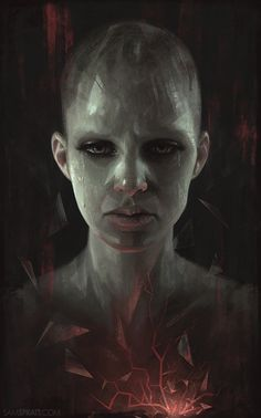 Portrait Illustrations by Sam Spratt  <3 <3