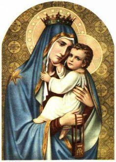 Another beautiful image of Our Mother of Perpetual Help