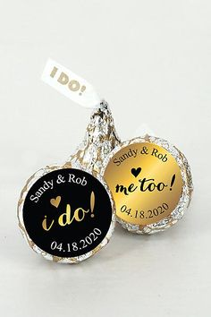 Pers Shimmering Love I DO Kisses Set of 200 4307002