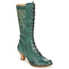 Chaussures Femme Bottes ville Neosens ROCOCO Bleu