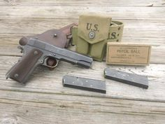 Colt 45 1911, 1911 Pistol, M1911a1, Ww2 Weapons, Hanuman Wallpaper, Molon Labe, Cool Guns, Guns And Ammo, Usmc