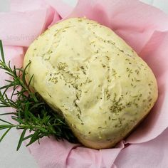 Pane al rosmarino e parmigiano