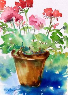 Watercolor Paintings For Beginners, Watercolor Art Lessons, Watercolor Projects, Watercolor Pictures, Watercolor Landscape, Abstract Watercolor, Watercolor Illustration, Watercolor Tutorials, Watercolor Cards