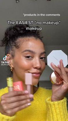Soft Makeup, Cute Makeup, Pretty Makeup, Simple Makeup, Natural Makeup, Dewy Makeup Look, Glow Makeup, Everyday Makeup Tutorials, Makeup Looks Tutorial
