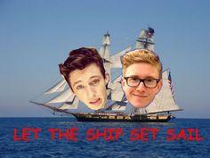 Tyler Oakley & Troyler Sivan... Troyler... I ship it