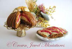 Crown Jewel Miniatures Ice Cream Bomb Cake