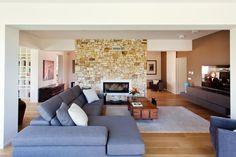 The elegant and comfortable living area at villa Demetra, near Scopello, Sicily. Photography: Benedetto Tarantino