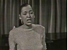 Billie Holiday -  I Love You Porgy (Live TV 1959) shortly before her death.