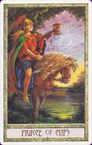 prince of cups - druidcraft tarot