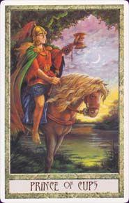prince of cups - druidcraft tarot