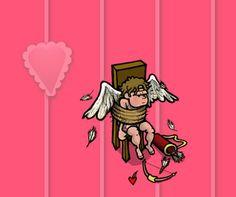 Para todos aqueles para quem o S. Valentim é um bocado xocho... ... e para os outros também! http://isaguedes.com/e/humor-de-s-valentim