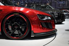 Audi R8 Spyder. Reminds me of a sexy red dress.