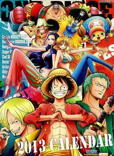 One Piece - 2013 Calendar