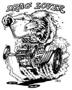 46 best rat fink images big daddy rat fink cartoon art Ford Mustang Mach II image result for 1992 rat fink coloring book ed big daddy roth cars coloring