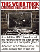 Weird trick to reduce taxes with IRS