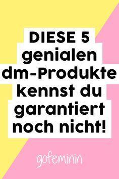DIESE dm-Produkte sind sooo genial! Kennst du sie schon?!