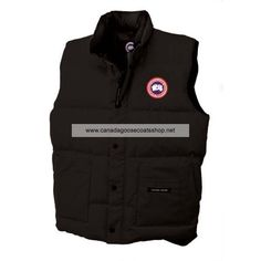 Mens Canada Goose Freestyle Vest Black