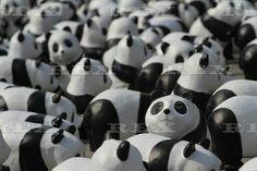 1600 Pandas exhibition, Bangkok, Thailand - 08 Mar 2016  1600 Pandas exhibition by French artist Paulo Grangeon 8 Mar 2016
