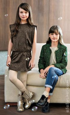 ALALOSHA: VOGUE ENFANTS: Cotton, wool and silk...from LIU JO are the epitome of luxury#more
