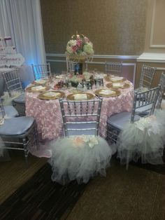 Fairytale Quinceanera decor for our event in Pasadena last weekend.
