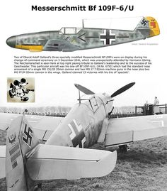 Bf 109F Aircraft Photos, Ww2 Aircraft, Fighter Aircraft, Military Aircraft, Luftwaffe, Fighter Pilot, Fighter Jets, Adolf Galland, War Thunder