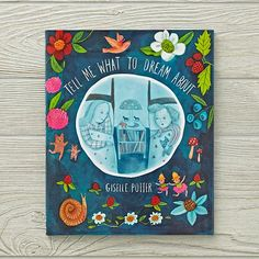 Tell Me What To Dream About Book by Giselle Potter | The Land of Nod