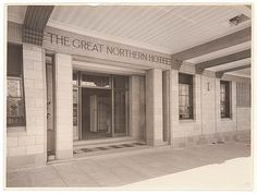 Great Northern Hotel, c. 1930s, by Sam Hood by State Library of New South Wales collection, via Flickr