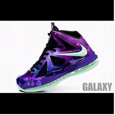 Lebron shoes 2013 Lebron 10 Galaxy All Star glow in the dark Logan wants! 2014  cheap nike shoes for sale info collection off big discount.