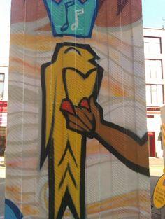 Graffiti Art For Bbc Manchester United City Motd Football