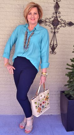50 Is Not Old | Spring In The Mountains | Spring | Vintage Purse | Fashion over 40 for the everyday woman