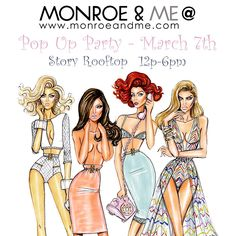 Join us this weekend @xo_pr #popup @storyrooftoplounge #dubaievents #weekend #shopping #popupparty #fashion #clothing #ss15 #newin #accessories #jewellery #monroeandme #dubai #uae