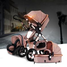 3 Baby Stroller w/Car Seat For Newborn High View Folding . - Carseat Stroller - Ideas of Carseat Stroller - 3 Baby Stroller w/Car Seat For Newborn High View Folding . Baby Sleep, Baby Baby, Baby Trolley, Pram Stroller, Baby Bassinet, Bassinet Cover, Baby Carriage, Prams, Baby Accessories