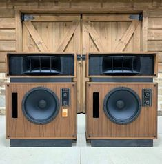 Audiophile Speakers, Hifi Audio, Audio Speakers, Altec Lansing, Horn Speakers, Hi Fi System, Audio Equipment, Bass, Cabinets