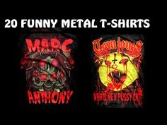 These shirts don't deal with the bands they seem to. Metal Shirts, Bands, Comic Books, Music, Funny, T Shirt, Musica, Supreme T Shirt, Musik