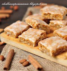 SLODKIE ZAPOMNIENIE.BLOGSPOT.COM: PIERNICZKI Z BAZYLEI - BASLER LECKERLI Dream Cake, Sweet Desserts, Apple Pie, Brownies, Gingerbread, Biscuits, Food And Drink, Cookies, Breakfast