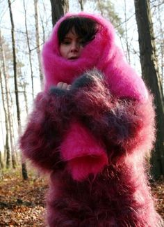 Gros Pull Mohair, Mohair Sweater, Turtleneck, Fox Fur Coat, Headgear, Catsuit, Sweater Outfits, Sweaters For Women, Wool