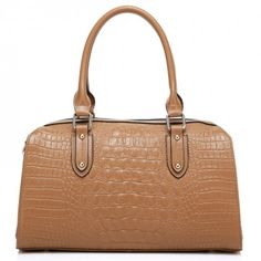 """Store: Franco Vernica 2013-2014 Autumn/Winter Collection  Made top grade cowhide embossed with crocodile effect Measurements: 13.8"""" (35cm)L,..."""