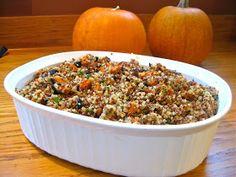 The Queen of Quinoa: A Gluten-free Thanksgiving: Quinoa Stuffing