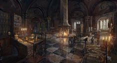 Video Game The Witcher Wild Hunt The Witcher Wallpaper The Witcher 3, Witcher 3 Wild Hunt, Witcher Art, Fantasy City, Fantasy Places, Fantasy World, Environment Concept, Environment Design, Witcher Wallpaper