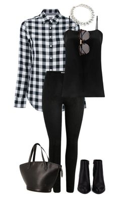 """#339"" by mintgreenb on Polyvore featuring rag & bone/JEAN, Racil, Illesteva and Alexander Wang"