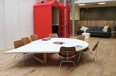Creative workspace at Foursquare