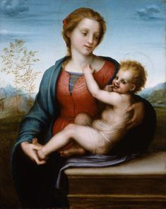 Andrea del Sarto - Virgin and Child