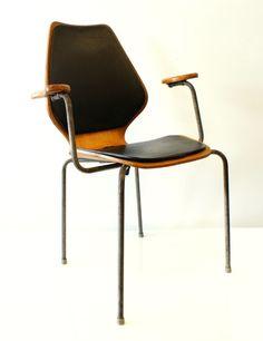 Øyvind Iversen; 'City' Arm Chair for Møre Møbler, c1960.