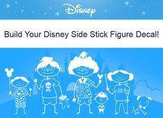 FREE Customized Disney Family Decal - Money Saving Mom®
